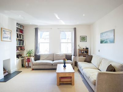 Photo for UP TO 20% OFF - A fabulous 3 bed property moments from the River Thames (Veeve)