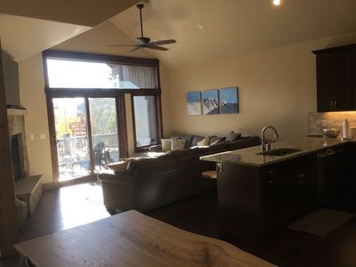 Photo for Luxury slope-side spacious new River Run Townhome