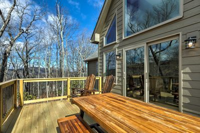 Adventures await at this vacation rental house in Wintergreen.