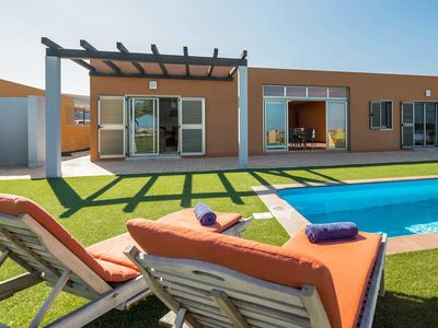Photo for 3 bedroom Villa, sleeps 6 in La Guirra with Pool, Air Con and WiFi