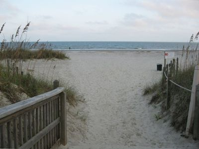 Photo for Oceanfront Resort, Just Steps to the Sand
