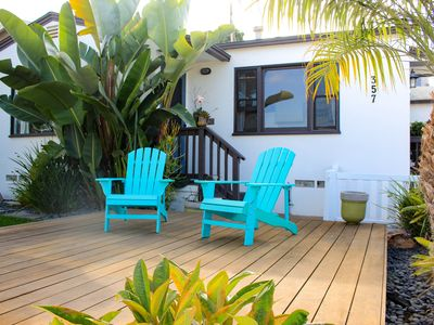 Relaxing Solana Beach Bungalow-steps to sand, surf, hiking, shopping & dining