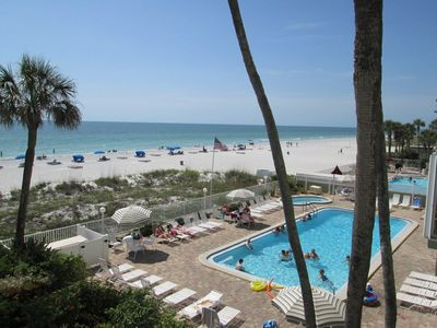 Photo for Wow, spectacular renovated unit!!  Directly on the beach!!