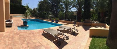 Photo for SPACIOUS GROUND FLOOR SWIMMING POOL 800m SEA AND ST-AYGULF 30km from ST TROPEZ