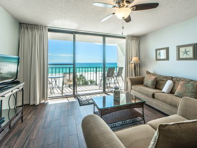 Photo for ☀Gulf Front Luxury☀Edgewater Tower 3-307-Aug 7 to 10 $780 Total! Fun Pass