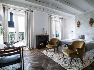 Photo for Delightful Bed and Breakfast, for two people, superbly located in Amsterdam?s luxurious Museum Quart