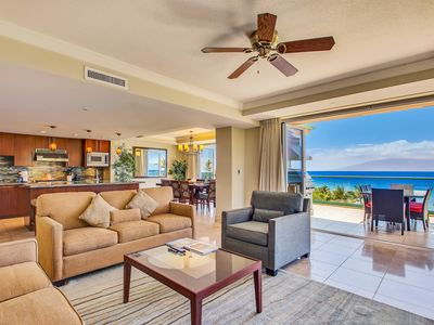 Photo for Maui Resort Rentals: Honua Kai – The Ultimate! 6 Bedroom Oceanfront Masterpiece, Sweeping 5th Floor Oceanfront Views, 4500+ Combined  Sq. Ft. w/ 2 Built-in Viking B.B.Q.s