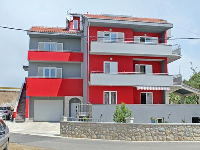 Photo for One bedroom apartment with balcony and sea view Petrčane (Zadar)