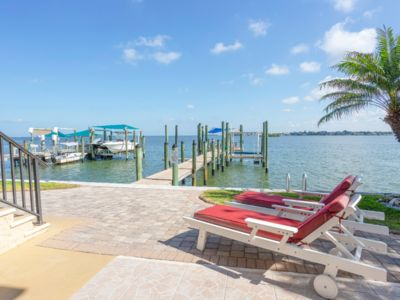 Photo for The Starboard Bow: Gulf-Front Suite with Free Boat Slip/ Bike/Kayaks/Beach Pass