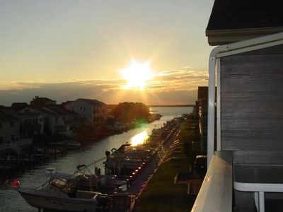 Photo for Waterfront Condo! Watch the Sunset Over Bay!