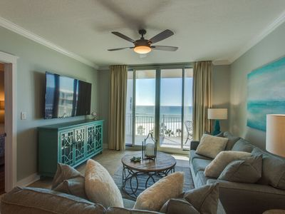Photo for Waterscape A606 ~ Designer Remodeled in 2017 ~ 70in 4k TV w/XBox ~ Beach Service