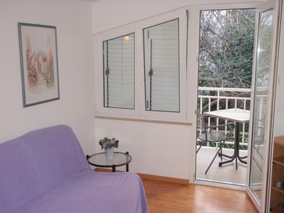 Photo for One bedroom apartment with balcony Podaca (Makarska)