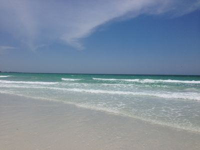 Photo for Remodeled Gulf Side 1 Bedroom Condominium on Siesta Key Beach