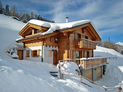 Photo for Vacation home Chalet Mandalay  in La Tzoumaz, Valais - 8 persons, 4 bedrooms