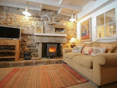 Photo for Historic cottage right in the heart of St Ives. 1 min walk to the harbour, 2 min walk to the beach