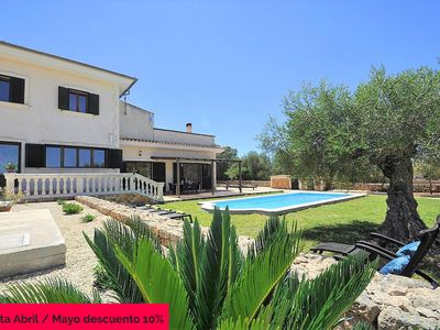 Photo for NA BUBOTA. Rustic Finca in Algaida for 8 people with private pool Eco-friendly. Barbecue. Clear views. Mallorca- 111707 - Free Wifi | Offer | 10% | 01/04 - 31/05