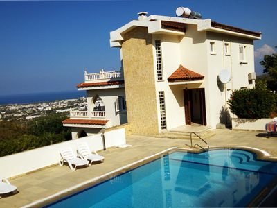 Secluded Villa with Stunning Sea and Mountain Views and Private Pool