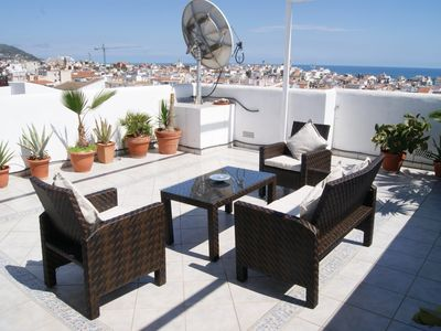 Photo for BETTY great views and large roof terrace