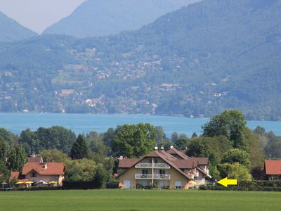 Photo for Bright apartment 87 m2 near Lake Annecy