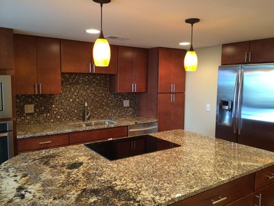 Complete remodel with granite and stainless appliances