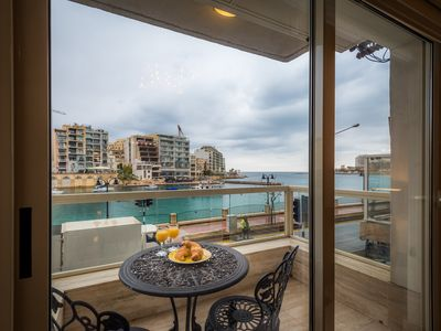 Photo for SPACIOUS APARTMENT WITH BALCONY AND SEA VIEW - 2 BEDROOMS