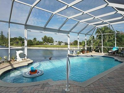 Photo for 34% OFF! -SWFL Rentals - Villa Michelle - Family Friendly Pool Home On Freshwater Canal