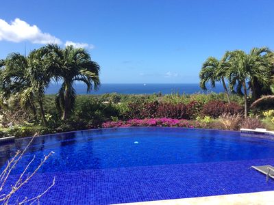 Photo for St James beautiful unique 4 bedroom villa & infinity pool and panoramic sea view