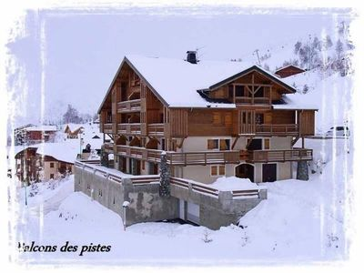 Photo for Duplex The two Alps at the foot of the slopes 6pers