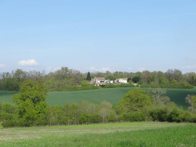 the property in its green setting without close neighbors