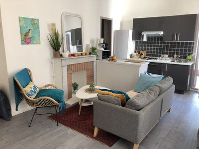 Photo for Quiet and cozy apartment. Good as new. Hyper Center Bastia