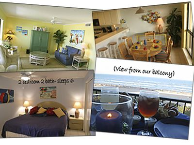 Photo for 5 Star South Padre Island Intimate Gulf Beachfront Condo with Amazing View