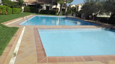 Photo for House with pool, 2 bedrooms + mezzanine, 4 to 6 people, L'Estartit