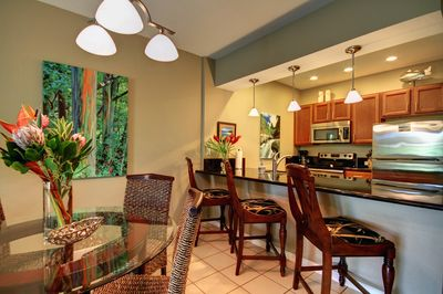 Beautifully renovated with modern stylings and tropical touches
