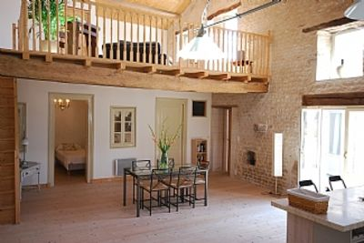 Photo for Stunning  Converted Stone Barn In Quintessential French Village