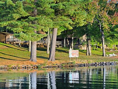 Photo for Lake view suite w/ shared tennis/playground/docks, free WiFi - dogs OK!