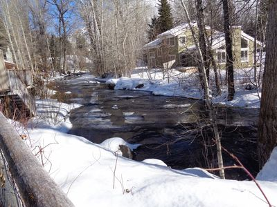 Photo for On Beautiful Trail Creek And Nestled In The Aspens!