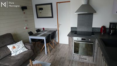 Photo for T2 fully renovated, fully equipped, ski-in, balcony, parking