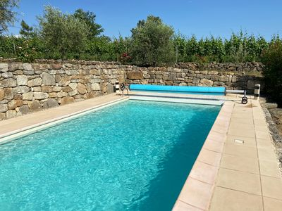 Photo for House with Private Pool, South Ardèche, Exceptional view