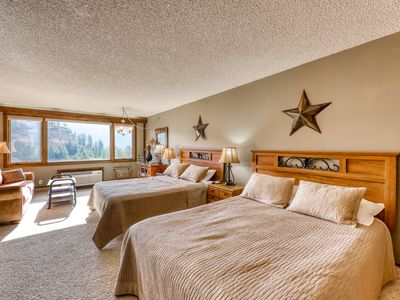 Photo for NEW LISTING! Ski-in/out studio w/ beautiful views, shared pools, gym & tennis