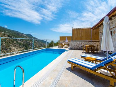 Photo for New Traditional 1 Bedroom Villa with Secluded Outdoor and Heated Indoor Pool