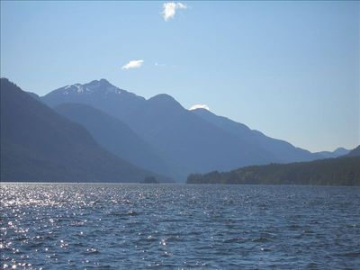 Photo for Million Dollar View! Clear, Clean Sproat Lake. $2200.00 Canadian/Week