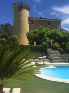 Photo for Provencal Bastide with swimming pool, Draguignan Var - Private Rentals