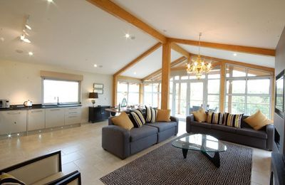 Photo for Laxton is a one-bedroom luxury penthouse lodge located in peaceful Constable Country Suffolk.