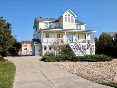 Photo for #473: Reduced Rates! OCEANSIDE in Corolla w/PRVTPool, HotTub, Elev. & RecRm