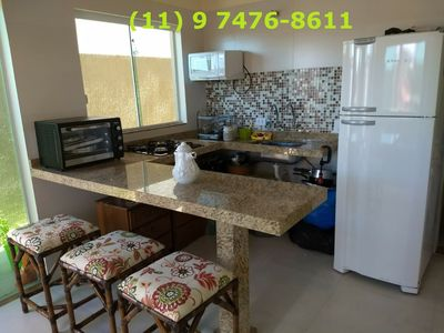 Photo for Peruíbe - Ground Floor 2 Bedrooms in Condo with Pool and Barbecue