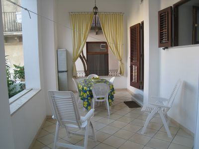 Photo for EOLIE Lipari-Canneto Attractive apartment with terrace 30 m from the beach