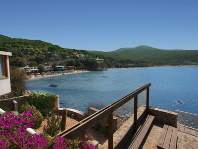 Photo for Fantastic Waterfront Villa with terrific seaviews over an enchanting sandy beach