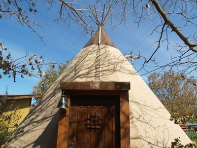 Photo for Reservation on the Guadalupe - Tipi 3 Painted Pony