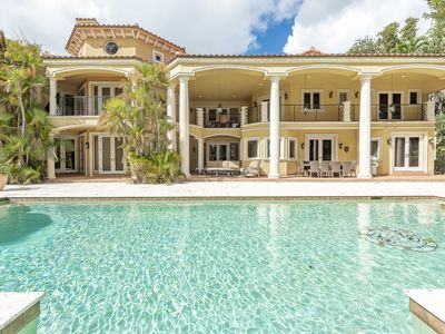 Photo for Luxurious Quiet Tranquil Private 7000 SF Gated Waterfront Estate 6 Bed/8 Baths