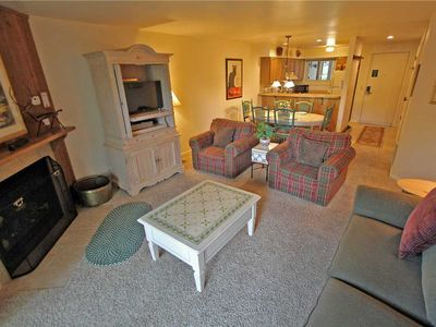 Photo for Snow Flower Condo #105, 2 bedroom 2 bath, sleeps 6, SKI-IN/SKI-OUT to Park City Mountain Resort